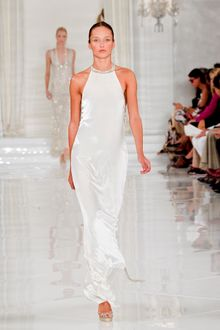 Ralph Lauren Spring 2012 Eveneing Maxi Dress - Lyst