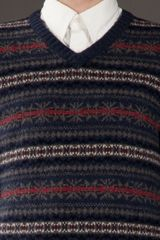 Tommy Hilfiger Wool Sweater in Blue for Men - Lyst