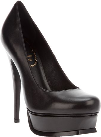 Yves Saint Laurent Platform Stiletto - Lyst