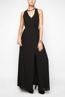 BCBGeneration Lace Back Maxi Dress - Lyst