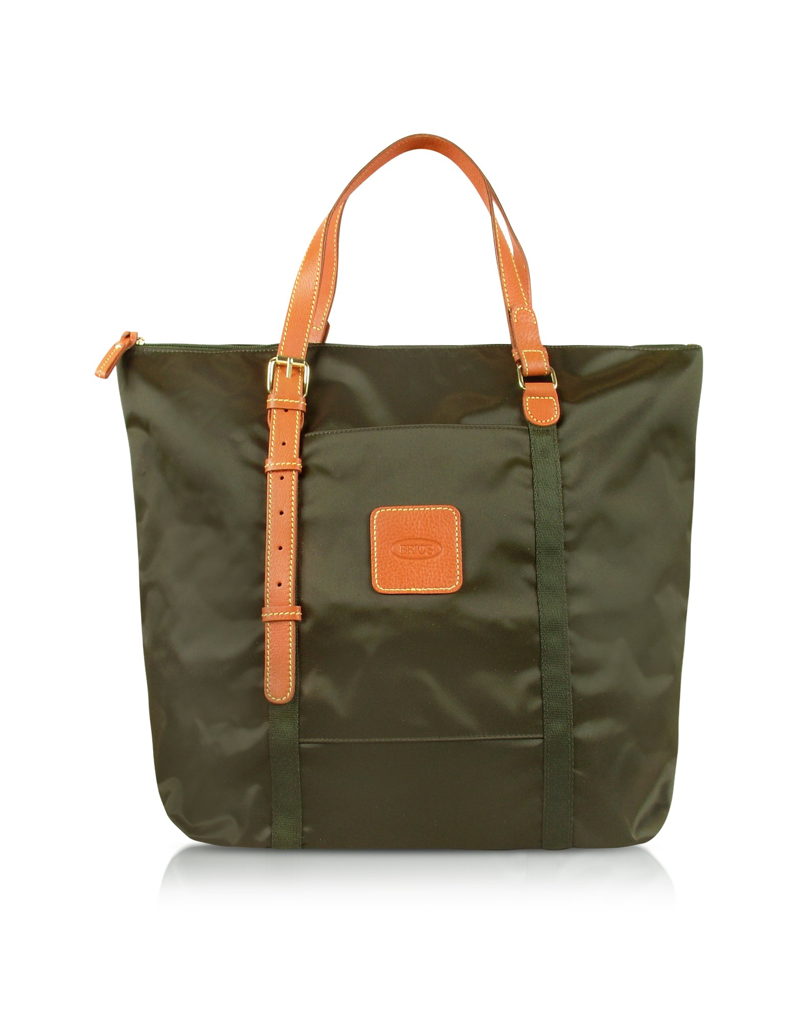 bric s x bag large 3 in one tote bag in green black lyst