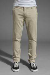 Cheap Monday Slim Chino - Lyst
