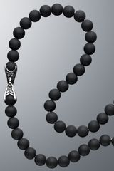 David Yurman Black Onyx Spiritual Bead Necklace in Black for Men - Lyst