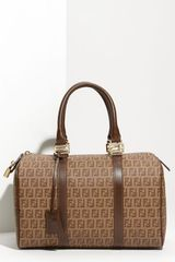 Fendi Forever Boston Satchel - Lyst