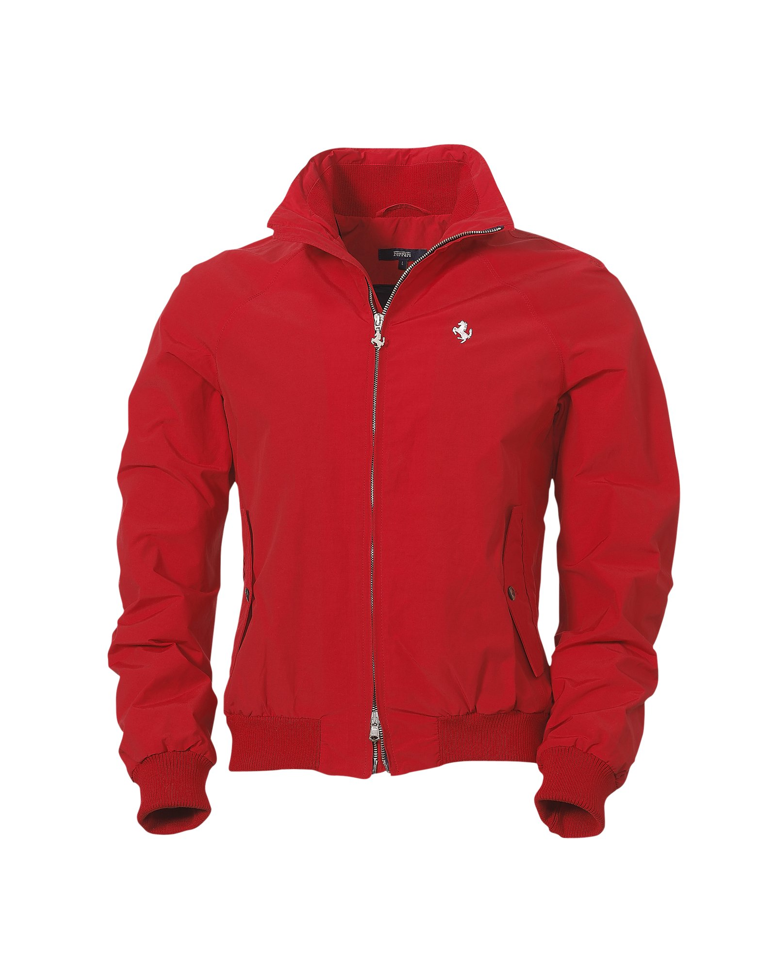 clothing red jacket mens ferrari diadora products italy