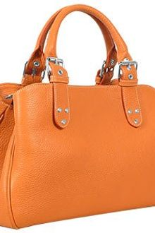 Fontanelli Soft Calf Leather Satchel Bag - Lyst