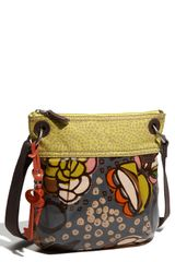 Fossil Key-per Coated Canvas Crossbody Bag - Lyst