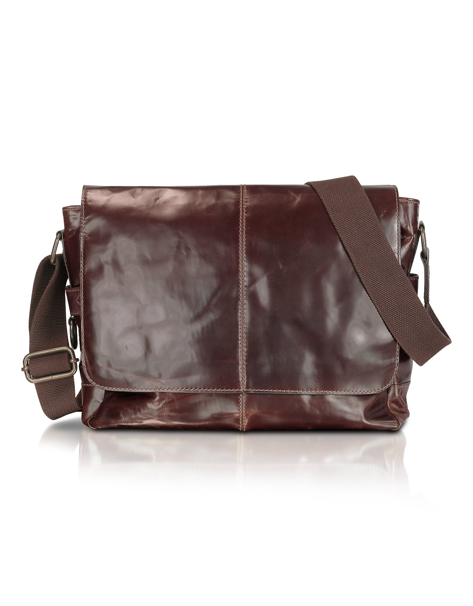 Fashion week Leather Fossil messenger bags for lady