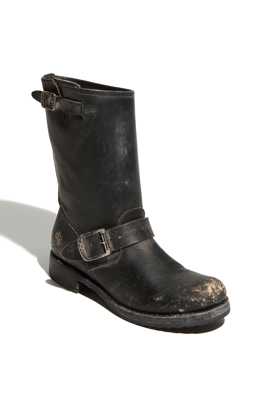 frye boot in black lyst