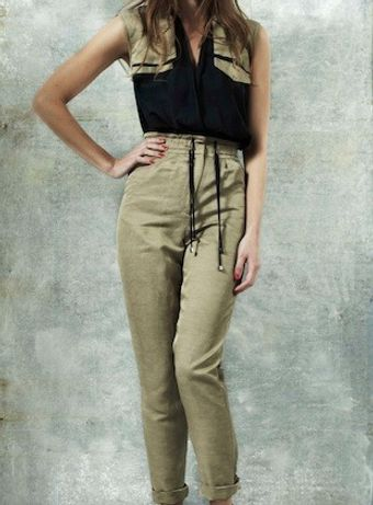 Goodone Linen And Jersey Jumpsuit By - Lyst