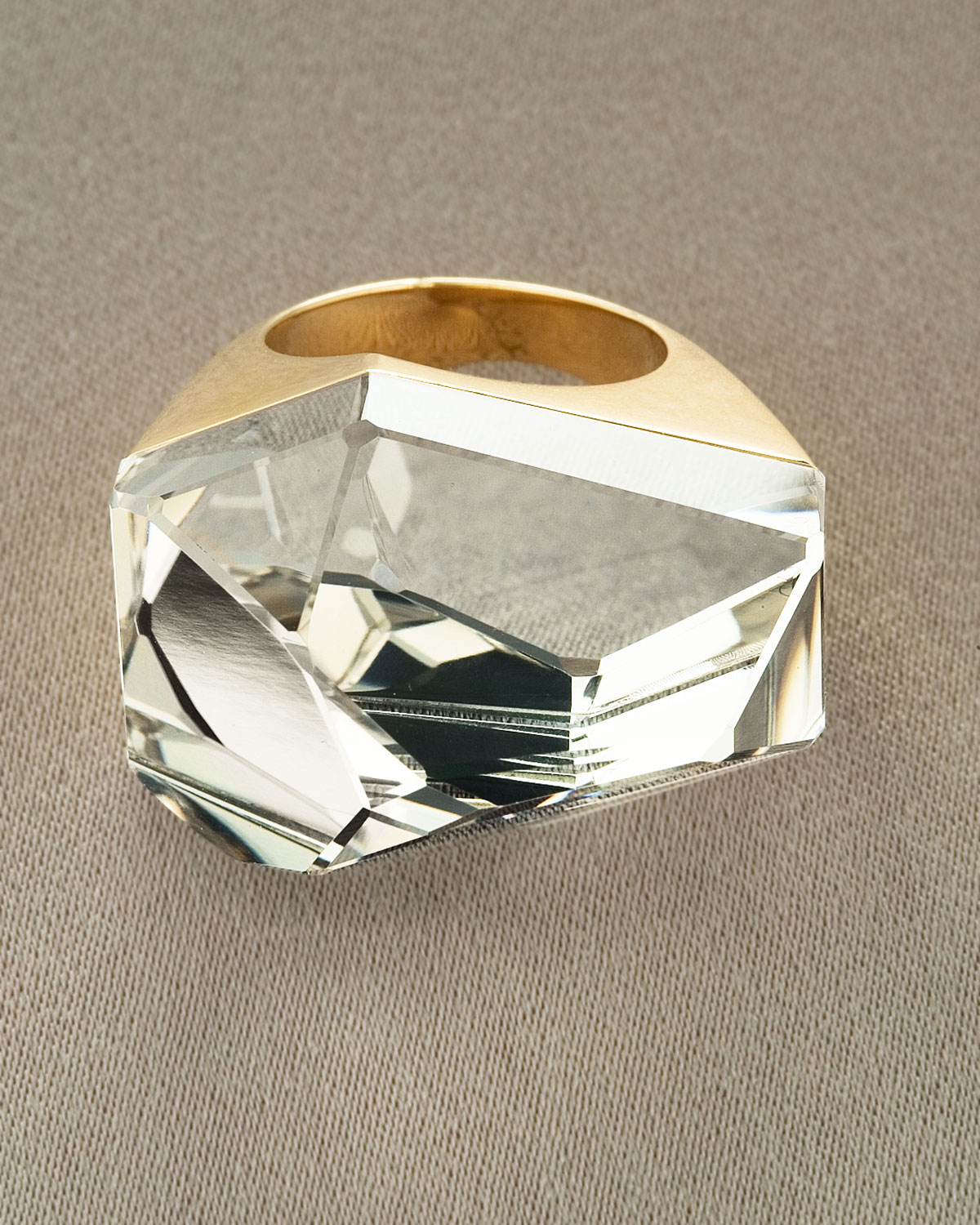 Lyst H Stern Dvf Power Quartz Ring