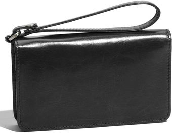 Hobo International Ally Vintage Leather Wristlet - Lyst