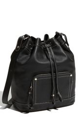 Longchamp Leather Crossbody Bag - Lyst