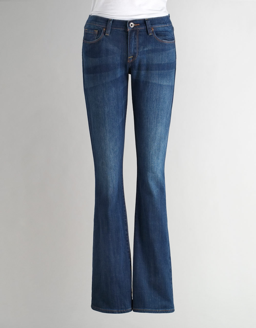 Long Bootcut Jeans