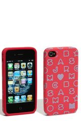 Marc By Marc Jacobs Stardust Iphone 4 Cover - Lyst