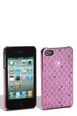 Marc By Marc Jacobs Metallic Stardust Iphone 4 Cover - Lyst