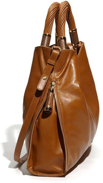 Clearance Michael Kors Tonne Totes - Bags Michael Kors Barley Tonne Calfskin Leather Tote