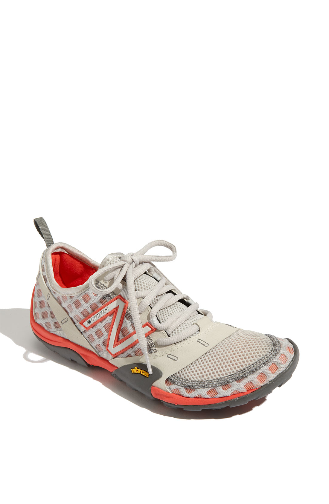 new balance minimus trail shoe in gray grey coral lyst