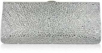 Rodo Silver Evening Clutch - Lyst