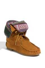Steve Madden Tblanket Moc Boot in Brown (chestnut) - Lyst