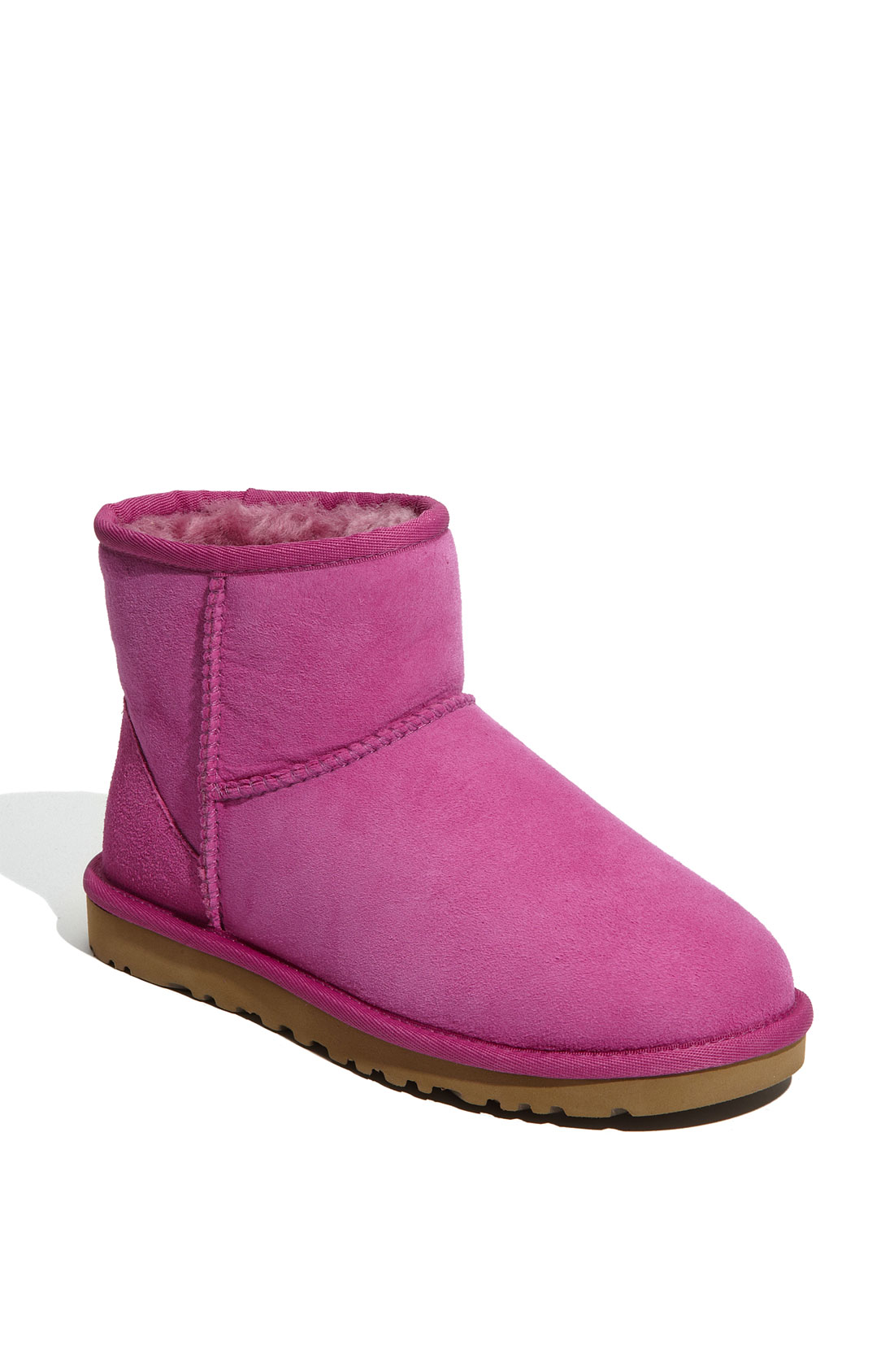 ugg classic mini boot women in pink cactus flower lyst. Black Bedroom Furniture Sets. Home Design Ideas