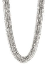 Cara Accessories Mixed Metal Long Necklace - Lyst