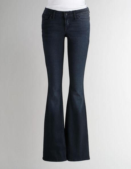 Jessica Simpson Sassy Low Rise Skinny Flare Jeans in Black (mariana)