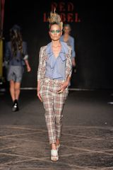 Vivienne Westwood Red Label Spring 2012 Brown Plaid 2-Piece Suit - Lyst