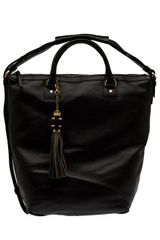 Diane Von Furstenberg Drew Bucket Leather Tote - Lyst