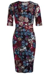 Mary Katrantzou Wild Rose Jersey Dress