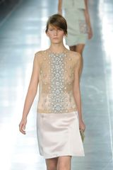 Christopher Kane Spring 2012 Beaded Sheer Top - Lyst