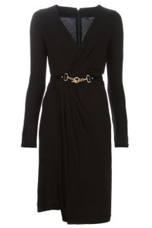 Gucci Belted Dress - Lyst