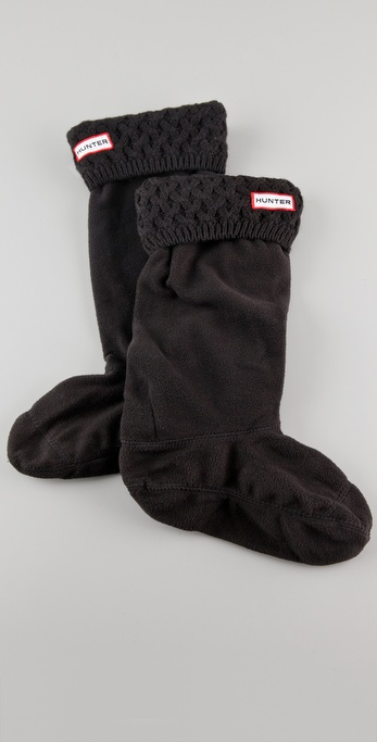 Lyst - Hunter Short Boot Socks in Black - Save 11%