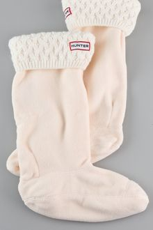 Hunter Basket Knit Welly Socks - Lyst