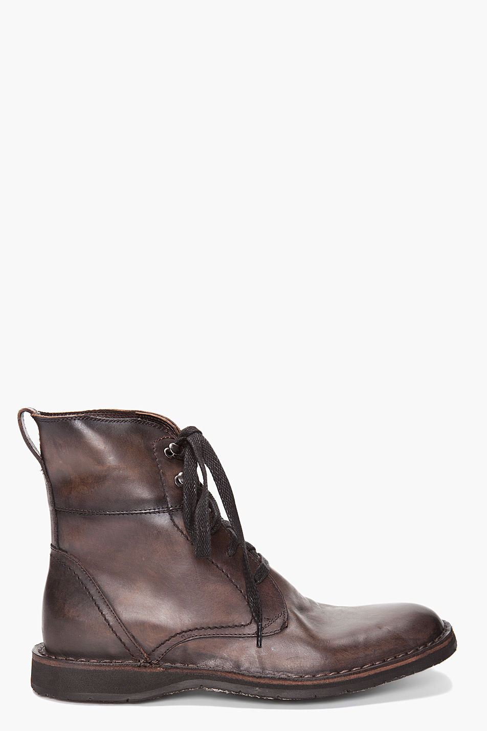 lyst john varvatos winter hipster boots in gray for men