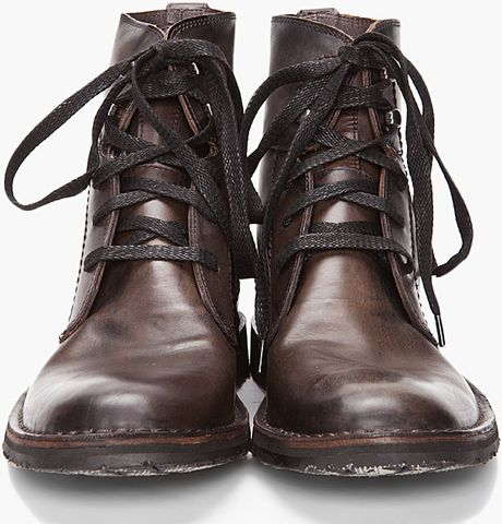 john varvatos winter hipster boots in gray for men lead