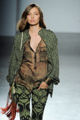 Matthew Williamson Safari Jacket in Green - Lyst