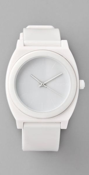Nixon Time Teller P Watch in White