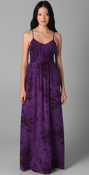 Purple Tie Dye Dresses