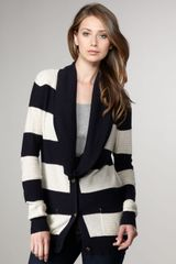 Splendid Rugby-striped Cardigan - Lyst