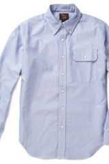 Woolrich Button Down Collar Chambray Shirt