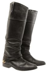 Golden Goose Deluxe Brand Aged Leather Riding Boots - Lyst