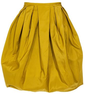 Jason Wu Sculpted Silk Skirt - Lyst