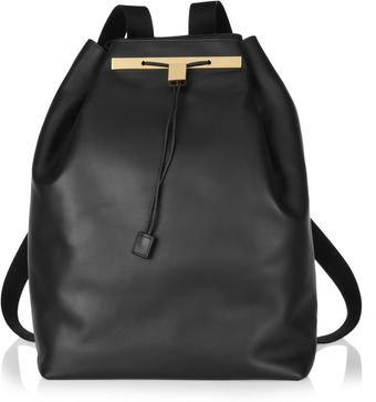 The Row Leather Backpack - Lyst