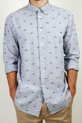 Libertine Hunter Shirt White Allover Print - Lyst