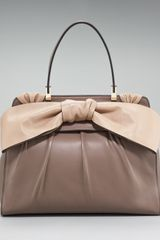 Valentino Aphrodite Bow Bag, Large - Lyst