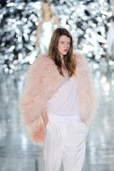 Giles Spring 2012 Pink Feather Jacket  in Pink (white) - Lyst