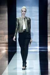 Gucci Spring 2012 Black Jacket with Gold Detailing in Gold (black, gold) - Lyst