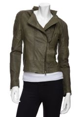 Improvd Leather Jacket - Lyst