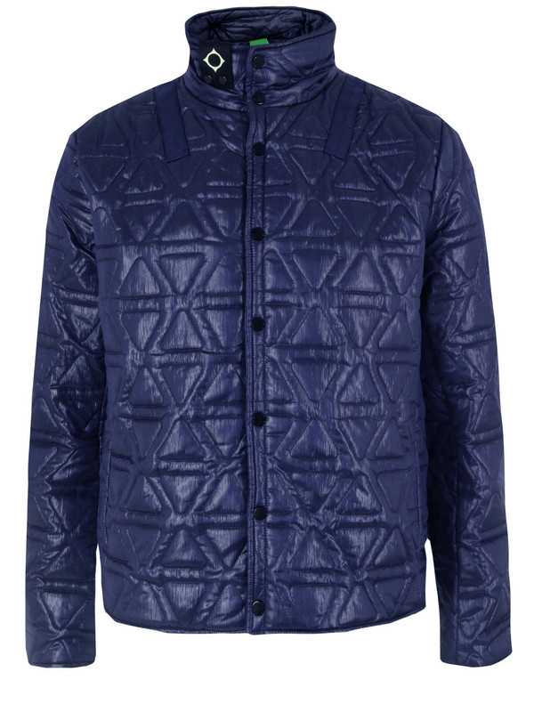 Ma.strum Quilted Liner Navy Jacket in Blue for Men | Lyst